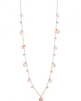 Collana in argento con pendenti a forma di stella