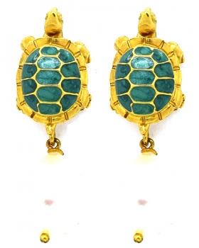 Orecchini tartaruga