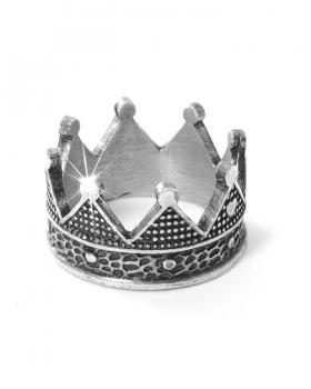 anello in argento a corona